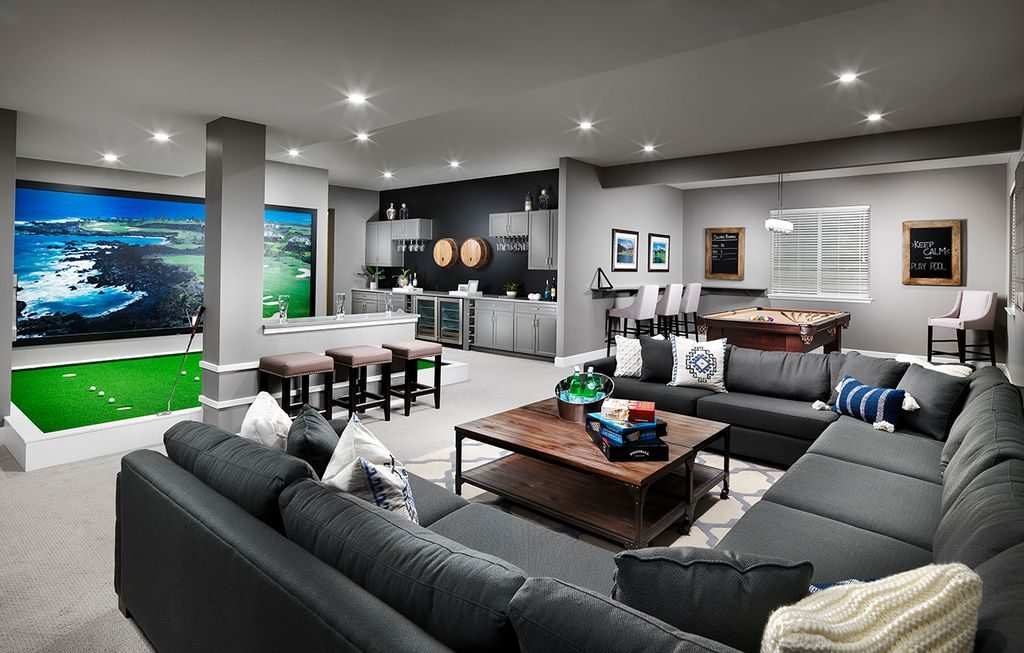 Sports Dens are the New Trend for Basement Remodels - Michael Gould